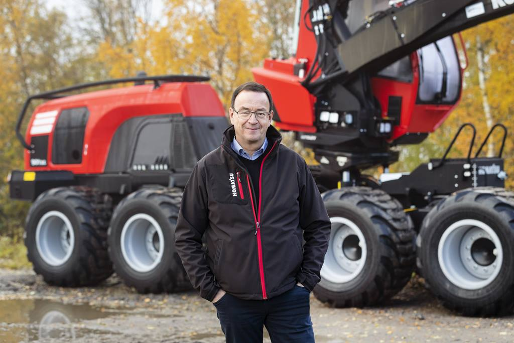 Bernd Rauser, new Global After Sales Manager for Komatsu Forest